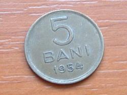 ROMÁNIA 5 BANI 1954