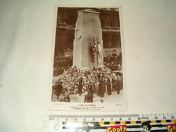 Cenotaph Királyi hősi emlékmű sírja képeslap kb világháborús kori angol UK britt temetés  KIÁRUSÍTÁS