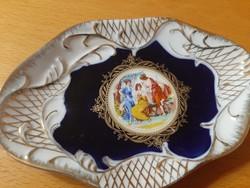 24 ct gold Thun cseh porcelán tálka