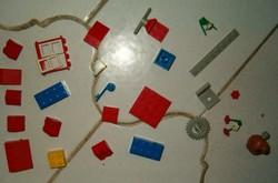30 darab LEGO duplo retró játék 1987 ből trafik áru gyerek építős összerakó K5