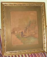 Neogrády Antal (1861-1942) Életkép