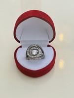 Gyönyörű ezüst gyűrű 925