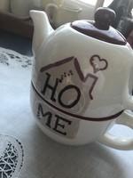 Kerámia egyszemélyes teáskanna