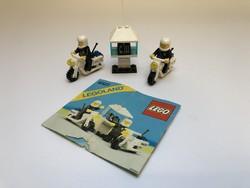 LEGO 6522 - Motoros rendőrök + Leírás - 1987-ből