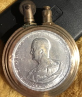 Horthy-s antik réz benzines öngyújtó