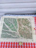 Fürstenfeld térkép - Magyar Királyi Honvéd Térképészeti Intézet - Antik