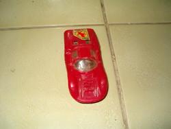 Retró játék műanyag kis autó matchbox féle régi kocsi kb 1980 szocreál porse KIÁRUSÍTÁS
