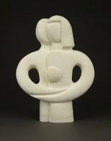 1D281 Ölelés alabástrom szobor 15 cm