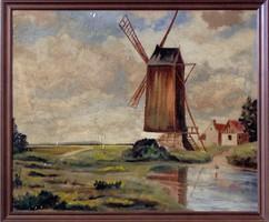 Holland festő festménye