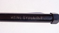MEINL GYULA R.T. feliratos régi reklám ceruza