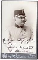 Vavricka János gy. százados 1908 (Zelesny Károly fotó Pécs)