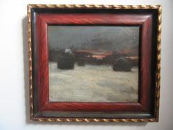 Antik festmény, Borovszky Z. 1921