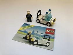 LEGO 6506 - Rendőrautó + Leírás - 1989-ből