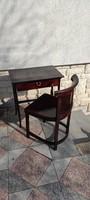 Thonet asztal, íróasztal fiókos laptop vagy Home office ,dohànyzó, posztamens