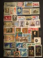 39 darab külföldi bélyeg .