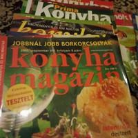 Konyha  magazin  37 darab újság / magazin  ! Jó állapotban !!!