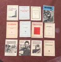 Kommunista  PROPAGANDA  lapok 12 db