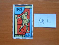 DÉL-AFRIKA  2-1/2 C 1970. A Dél-afrikai Biblia Társaság 150. évfordulója 58L
