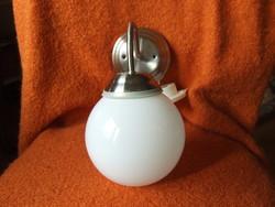 Modern fali lámpa krómozott