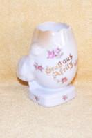 Tojás porcelán dísztárgy