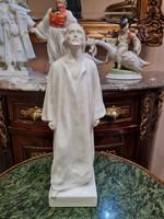 Herendi porcelán Jézus szobor