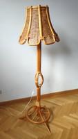 Bambusz állólámpa eladó/Standing bamboo lamp for sale