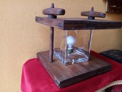 Egyedi asztali lámpa...