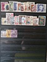 73db különböző használt Osztrák bélyeg!