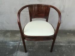 Gyönyörű Otto Wagner karfás szék Thonet - J.&J. Kohn .LEÁRAZVA!!!