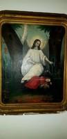 XIX. Századi antik festmény
