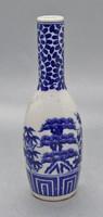 B130 Nippon Tokusei japán porcelán váza - Gyűjtői ritkaság - hibátlan szép állapotban