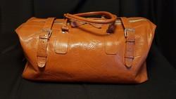 Retro bőr utazó táska