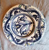 Bozsik tányér - Ritka Gyűjtői darab
