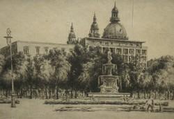 Paulovits Pál (1892-) : Neptun-kút / Budapest