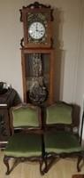 Antik bútor és óra