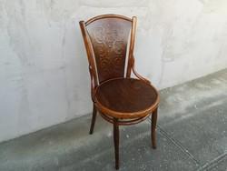 Kuriózum! Gyönyörű Felújított Ritka Jelzésel Thonet szék!!!