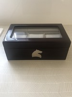 Mahagóni óratartó doboz  Karucci