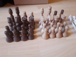 Régi retró fa sakk