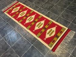 TORONTÁLI kézi szövésű gyapjú szőnyeg, 64 x 219 cm
