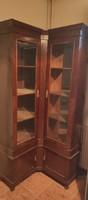 Régi, antik vitrines szekrény