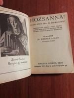 Hozsanna - Teljes kótás ima és énekeskönyv  1948