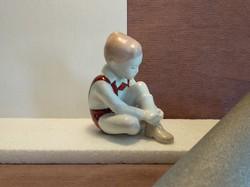Aquincumi porcelán kisfiú