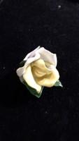 Aquincum porcelán, női rózsa hibátlan állapotban 5 cm-es.