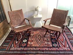 Ritka perui iparművészeti székek párban a 60-as 70-es évekből skandináv retro design kedvelőknek