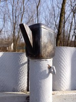 Fém kávéházi kiöntő kanna