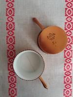 Antik Rosenthal Kronach kisméretü sütőedény 2db, hibás,de cukrászdákba,tevékenység bemutató vitrinbe