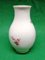 Hollóházi virágmintás váza