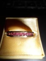 14K arany gyűrű / rubin