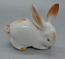 B179 Porcelán nyúl nyuszi figura - szép hibátlan állapotban!