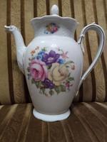 Rosenthal Bavaria, Modell Ph. Rosenthal jelzésű antik teás kanna, rózsa mintás